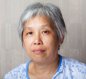 Middleage chinese woman Stock Images
