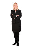 Middleaged Business Woman Posing Stock Images