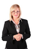 Middleaged business woman posing Royalty Free Stock Photo