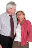 Middleaged couple Stock Images