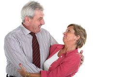 Middleaged couple Stock Image