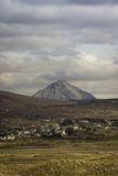Middlebeg在Donegal和Errigal在背景中 免版税库存图片