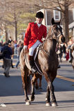 Middleburg hunt in traditional parade Stock Photos