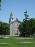 Middlebury College Campus. One of the top Liberal Arts colleges in the state of Vermont. Renowned for it's international studies. It opened in 1800 as an all Royalty Free Stock Photography