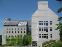 Middlebury Hochschulcampus Stockfotografie