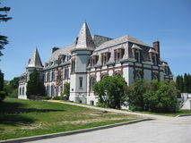 middlebury kampus szkoła wyższa Zdjęcia Stock