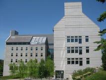 middlebury kampus szkoła wyższa fotografia stock