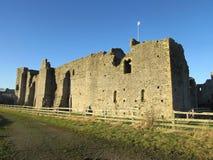 Middleham城堡 免版税库存图片