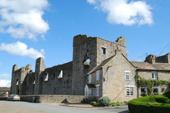 Middleham Castle, North Yorkshire Stock Photography