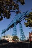 Middlesbrough biltransport Royaltyfria Foton