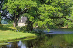 Middleton miejsca plantacja, Charleston, SC obraz stock