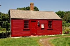 Middletown, RI: Casa de 1715 catetos en Prescott Farm Imagen de archivo