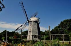 Middletown, RI: 1812 Robert Sherman Windmill Stock Photos