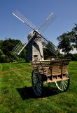Middletown, RI: 1812 Robert Sherman Windmill Royalty Free Stock Photography