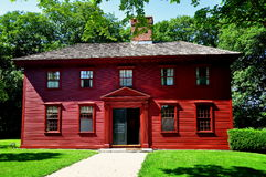 Middletown, RI: 1792 Whitehall Museum House Stock Images