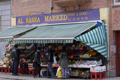 MIDEAST GROCERY STORE Royalty Free Stock Photo
