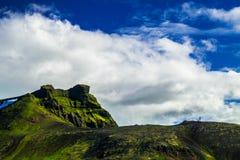 Midfell-Berg in Nationalpark Snaefellsjokull stockfoto