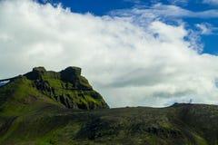 Midfell-Berg in Nationalpark Snaefellsjokull lizenzfreie stockfotos