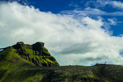 Midfell-Berg in Nationalpark Snaefellsjokull stockfotos