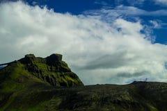 Midfell-Berg in Nationalpark Snaefellsjokull lizenzfreie stockbilder