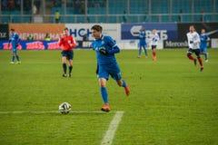Midfielder Alexei Ionov (11) Stock Image