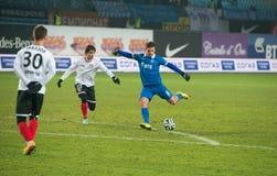 Midfielder Artur Yusupov (8) Stock Images