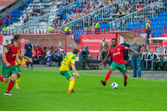Midfielder Manuel Fernandes (4) στοκ φωτογραφία με δικαίωμα ελεύθερης χρήσης