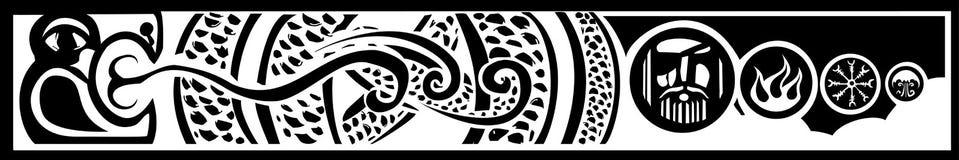 Midgard Serpent Stock Images