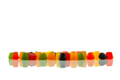Midget Gems, reflected Stock Photo