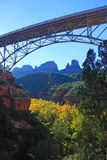 Midgley-Brücke, Sedona AZ Stockfotos