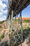 Midgley Bridge Over Wilson Canyon - Sedona, Arizona Royalty Free Stock Image