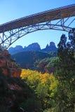 Midgleybrug, Sedona AZ Stock Foto's