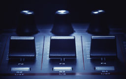 Midi Controller Details Royalty Free Stock Photography