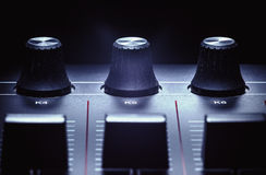 Midi Controller Details Royalty Free Stock Images