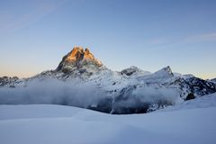 Midi d'Ossau Royalty Free Stock Photos