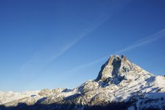Midi d'Ossau Royalty Free Stock Images