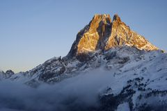Midi d'Ossau Stock Photography