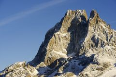 Midi d'Ossau Royalty Free Stock Photo