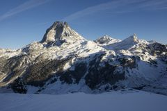 Midi d'Ossau Royalty Free Stock Photography