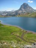 Midi-dOsseau in den schönen Pyrenäen lizenzfreies stockbild