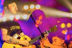 MIDI festiwal muzyki w Chiny Obrazy Royalty Free