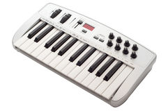 Midi keyboard Royalty Free Stock Photos