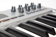 Midi keyboard Stock Photo