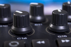 Midi Keyboard Controller Stock Photo