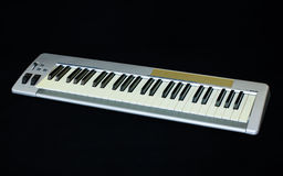 The midi keyboard controller Royalty Free Stock Images