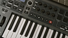 MIDI Keyboard Stock Photography