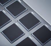 Midi Keyboard Pads Royalty Free Stock Images