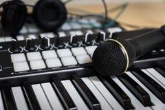 MIDI mikrofon i Obrazy Stock