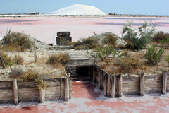 Midi salins du France soli zdjęcie stock