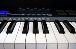MIDI-teclado profissional Foto de Stock